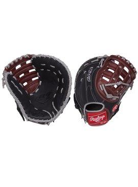 """RAWLINGS R9FM18BSG R9 12 1/2"""" Firstbase Baseball Glove"""