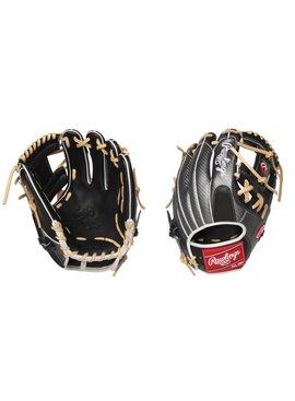 "RAWLINGS PRO204-2BCF Heart of the Hide Carbon Fiber 11 1/2"" Baseball Glove"