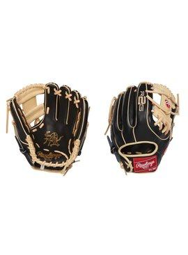"""RAWLINGS PROR314-2BC Heart of the Hide R2G Narrow Fit 11 1/2"""" Baseball Glove"""