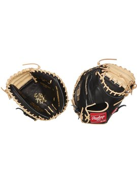 "RAWLINGS PRORCM33-23BC Heart of the Hide R2G 33"" Catcher's Baseball Glove"
