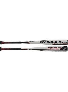 "RAWLINGS BB953 5150 Alloy 2 5/8"" BBCOR Baseball Bat (-3)"