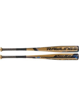 "RAWLINGS UT9V5 Velo Alloy 2 5/8"" USSSA Baseball Bat (-5)"