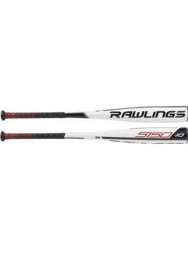 """RAWLINGS UT9510 5150 Alloy 2 3/4"""" USSSA Baseball Bat (-10)"""