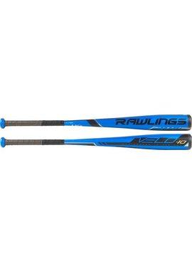 """RAWLINGS US9V10 Velo Alloy 2 5/8"""" USA Baseball Bat (-10)"""