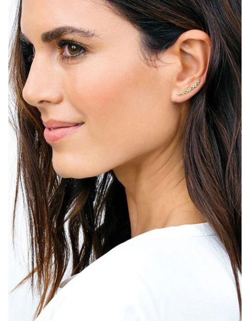 GORJANA RYDER SHIMMER EAR CLIMBER