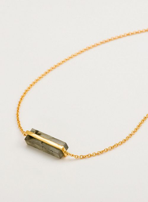 GORJANA DEZ BAR NECKLACE