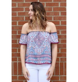 HEARTLOOM ILARIA OFF SHOULDER TOP