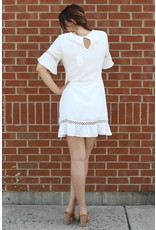 SHILLA THE LABEL CREATOR FRILL DETAIL DRESS