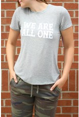 Spiritual Gangster WE ARE ALL ONE ZEN TEE