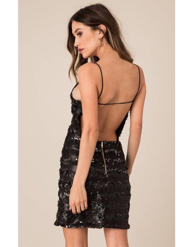 BLACK SWAN SADIE SEQUIN DRESS