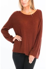 OLIVACEOUS FIONA FUZZY SWEATER