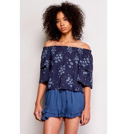 JACK BY BB DAKOTA RONELL OFF SHOULDER TOP
