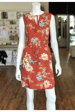 BEACH LUNCH LOUNGE GIGI BELTED SHIFT DRESS