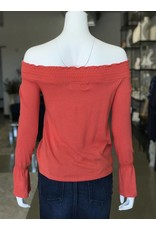 MICKEY & JENNY FELIX OFF SHOULDER TOP