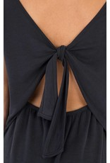 BLACK SWAN SORAYA OPEN BACK T-SHIRT DRESS
