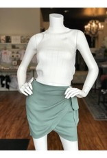 SAGE THE LABEL AMALFI WRAP SKIRT