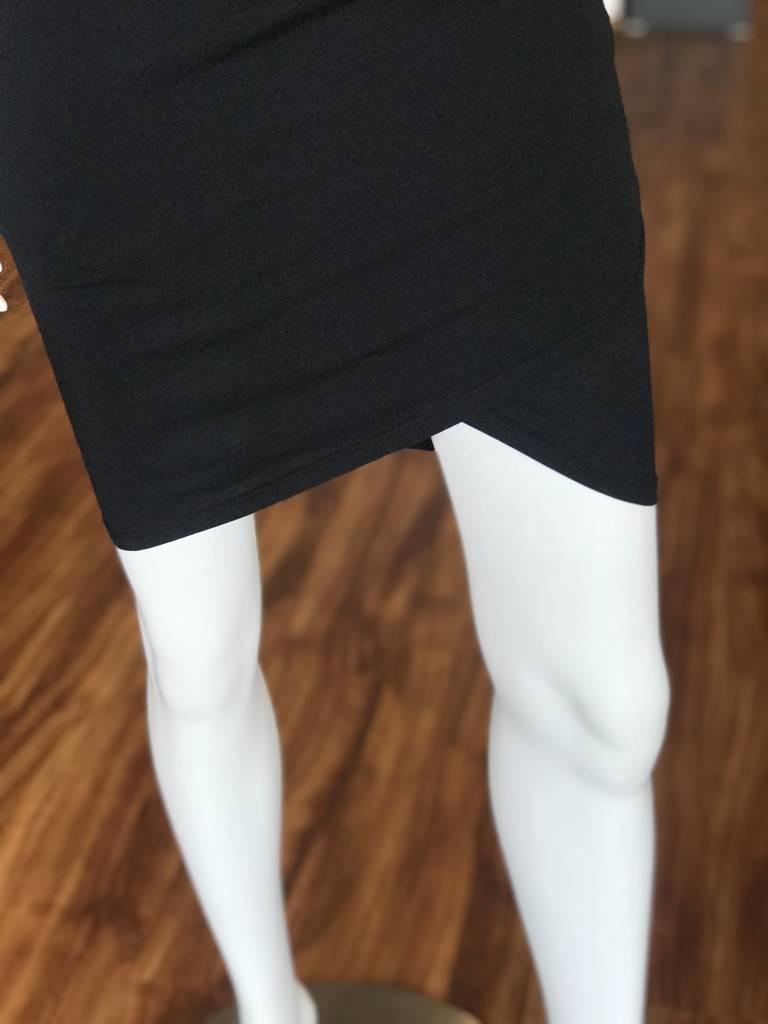 BOBI CAPRI RUCHED TANK DRESS