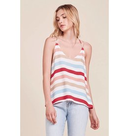 JACK BY BB DAKOTA MIRANDA STRIPE TANK