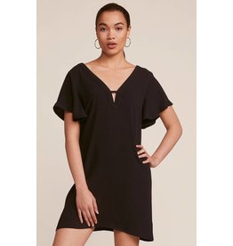 JACK BY BB DAKOTA 0 TO 100 DEEP V DRESS