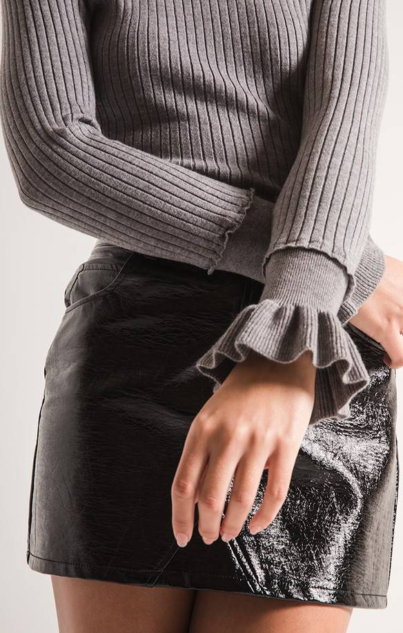 Black Swan Emma Ribbed Knit