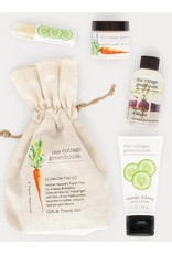 COTTAGE GREENHOUSE Glow-on-the-go Gift Set