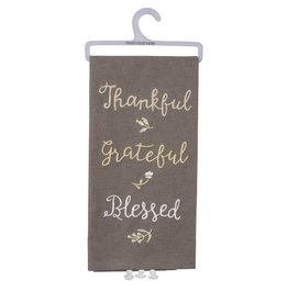 Primitives by Kathy THANKFUL TOWEL