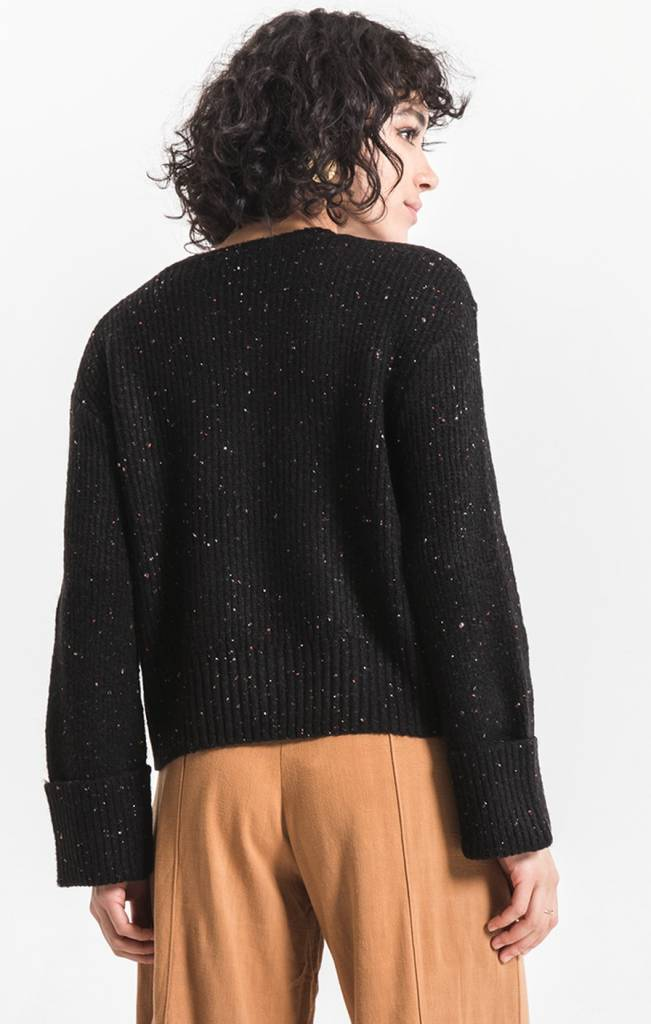 Rag Poets Marina Cropped Sweater