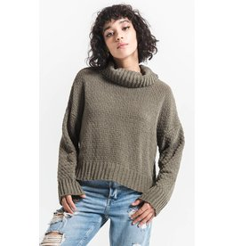 Rag Poets Lucia Cowl Neck Sweater