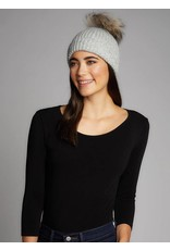 CEST MOI Knit Hat W/Fur Pom 330