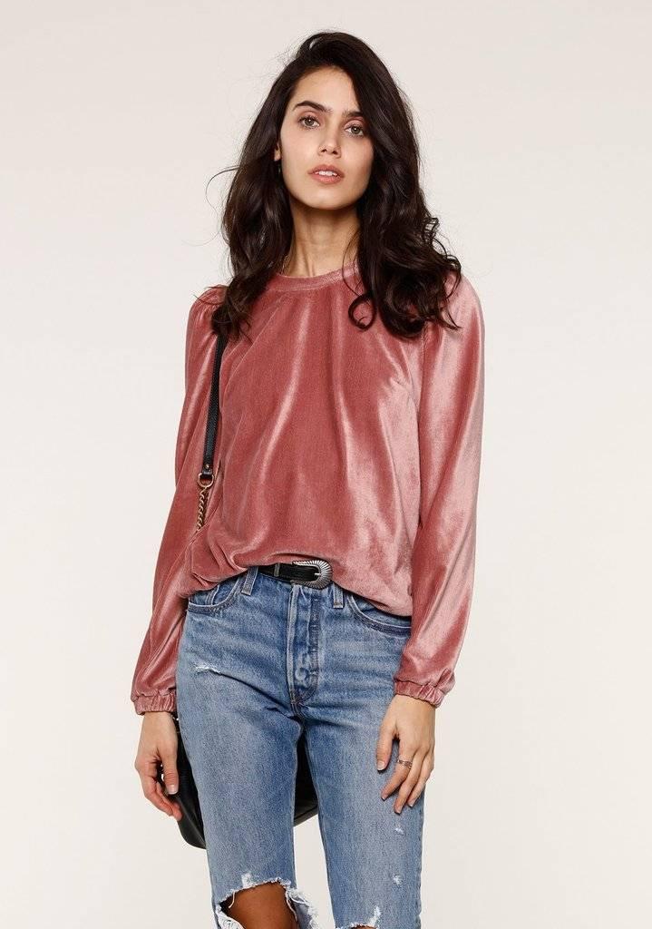 Heartloom Alli Velvet Sweatshirt