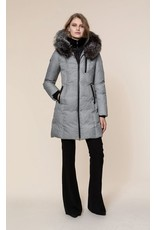 Soia & Kyo Christy FX Hooded Down Coat