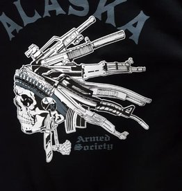 MAD HATTER DESIGNS ARMED SOCIETY HOODY