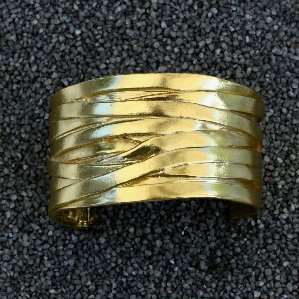 Jewelry KSuntan:Gold Braided Strips
