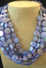Jewelry VCExclusives: Glass Beads Lavender Chimes