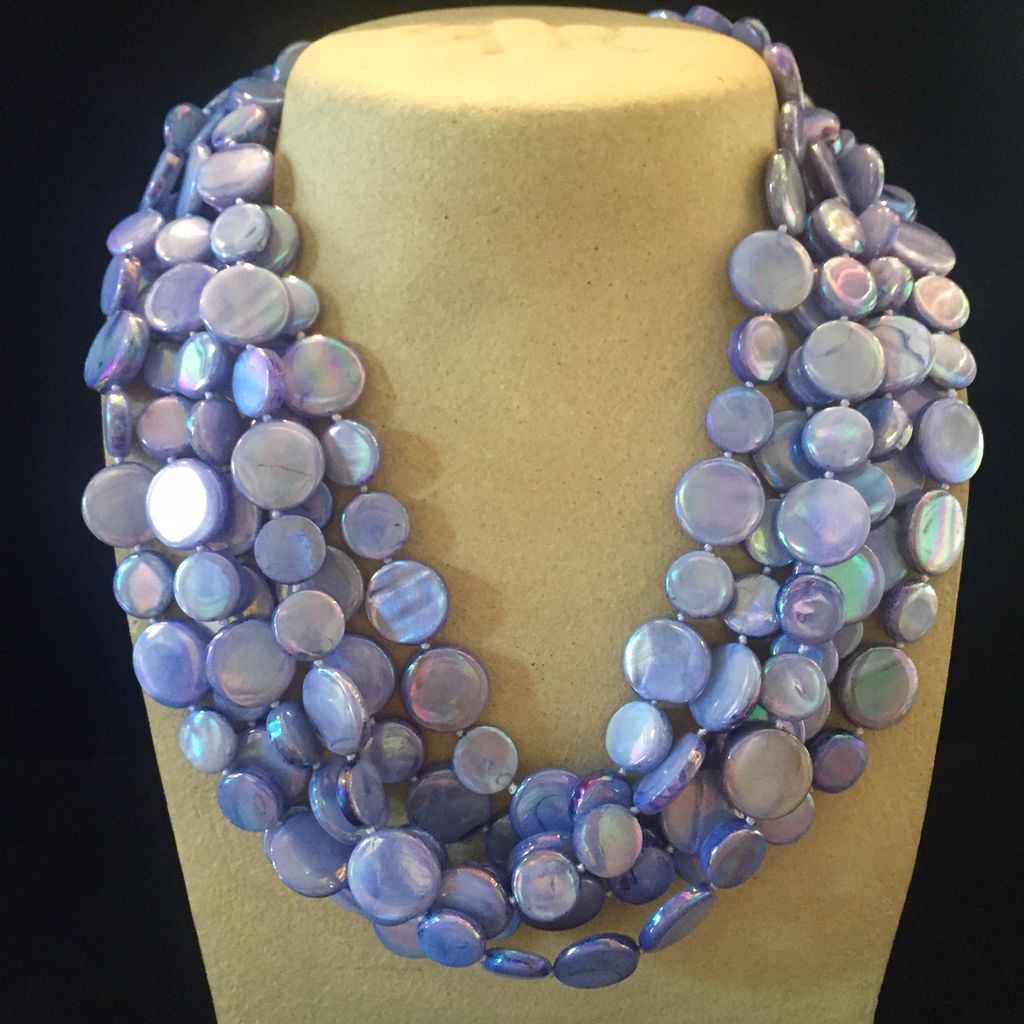 Jewelry VCExclusives: Chimes Glass Beads Lavender