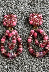 Jewelry FMontague: Lolita Pink & Purple Loops