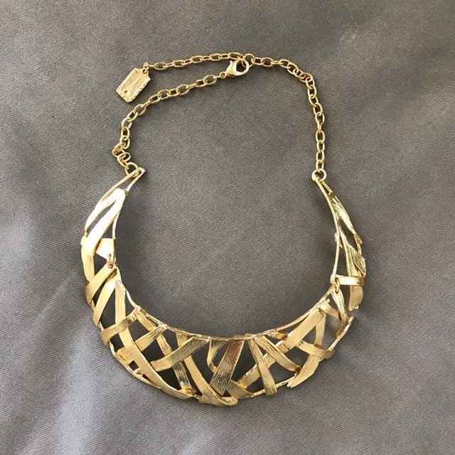 Jewelry KSultan: Gold Plait Choker