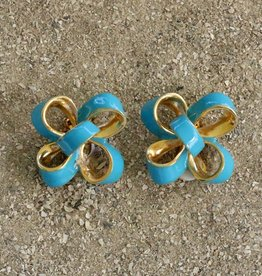 Jewelry KJLane: Turquoise Candy Bow