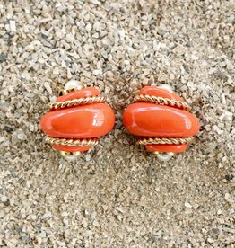 Jewelry VCExclusives: Coral Shell w/Gold Rope