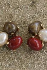 Jewelry VCExclusives: Tri Colored Drops Dark Autumn Pearl