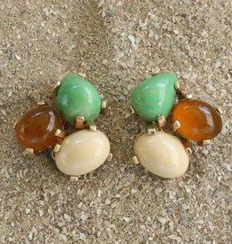 Jewelry VCExlusives: Tri Colored Drops in Ecru