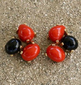 Jewelry VCExclusives: Tri Colored Drops Orange Black