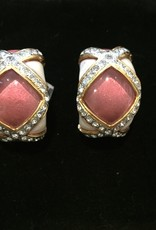 Jewelry VCExclusives: Pink Cats Eyes w/Crystal Details