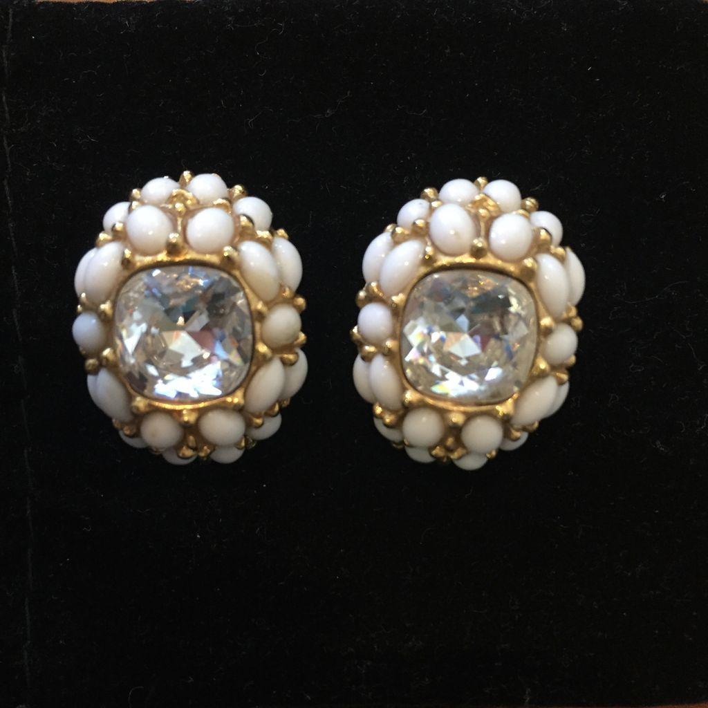 Jewelry KJLane: Crystals w/Eggs & Gold