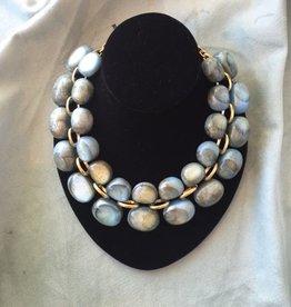 Jewelry Denaive: Andrea Blue Glacier Lucent Resin