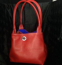 Handbags Valentina: Cherry Handbag