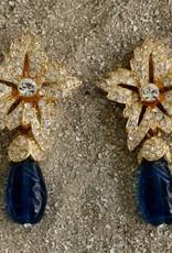Jewelry KJLane: Starbursts Emerald Drop