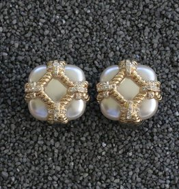 Jewelry VCExclusives: Gold & Pearl Buttons