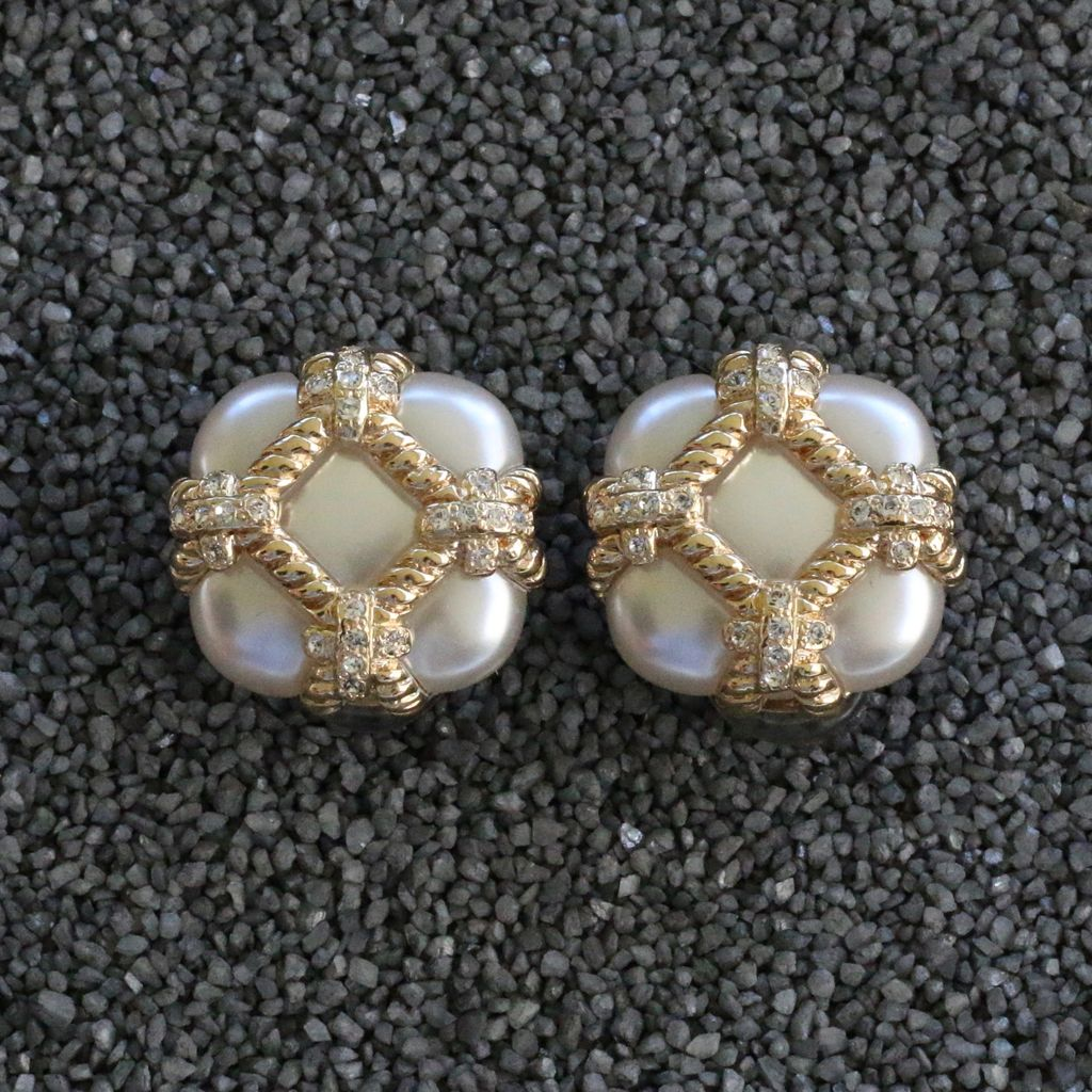 Jewelry VCExclusives: Zinnia Gold & Pearl