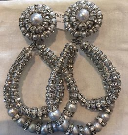 Jewelry FMontague: Lolita Double Loops in Silver